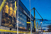 Football - 2018 / 2019 UEFA Champions League - Round of Sixteen, Second Leg: Borussia Dortmund (0) vs. Tottenham Hotspur (3)<br /> <br /> A General view of the stadium before kick off at Signal Iduna Park (Westfalenstadion).<br /> <br /> COLORSPORT/DANIEL BEARHAM