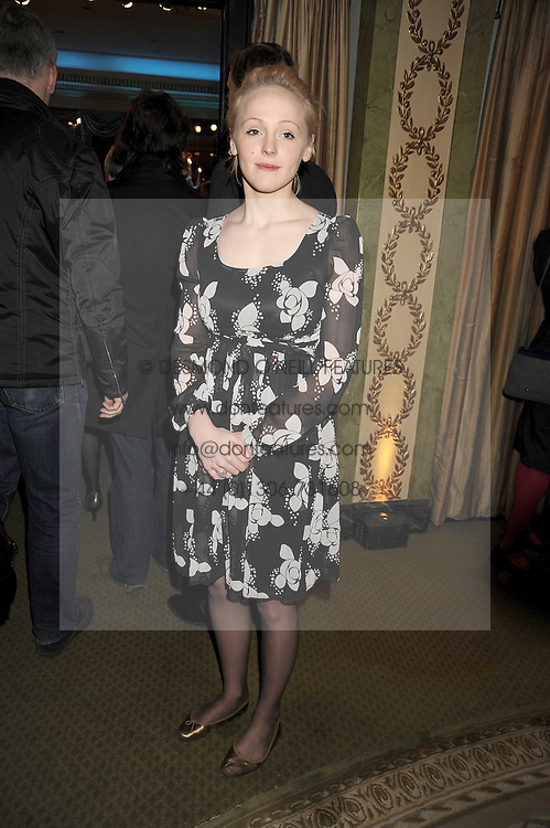 LAURA MARLING at the 2009 South Bank Show Awards held at The Dorchester, Park Lane, London on 20th January 2009.