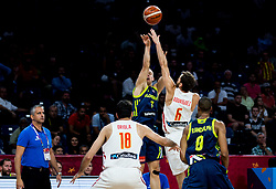 Klemen Prepelic of Slovenia vs Sergio Rodriguez of Spain during basketball match between National Teams of Slovenia and Spain at Day 15 in Semifinal of the FIBA EuroBasket 2017 at Sinan Erdem Dome in Istanbul, Turkey on September 14, 2017. Photo by Vid Ponikvar / Sportida