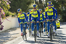 CYCLISME : Entrainement Equipe WB Aqua Protect - Training Camp - 11 January 2018