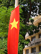 Flags are flown on every building on Vietnam's National Day in the tourist hub Nha Trang.