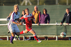 Christie Murray of Bristol Academy chases after the ball - Mandatory byline: Dougie Allward/JMP - 07966386802 - 27/08/2015 - FOOTBALL - Stoke Gifford Stadium -Bristol,England - Bristol Academy Women FC v Oxford United Women - FA WSL Continental Tyres Cup