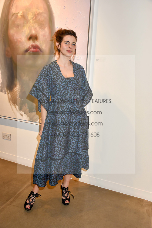 12 December 2019 - Martha Freud at a private view of Lethe by Henrik Uldalen at JD Malat Gallery. 30 Davies Street, London.<br /> <br /> Photo by Dominic O'Neill/Desmond O'Neill Features Ltd.  +44(0)1306 731608  www.donfeatures.com