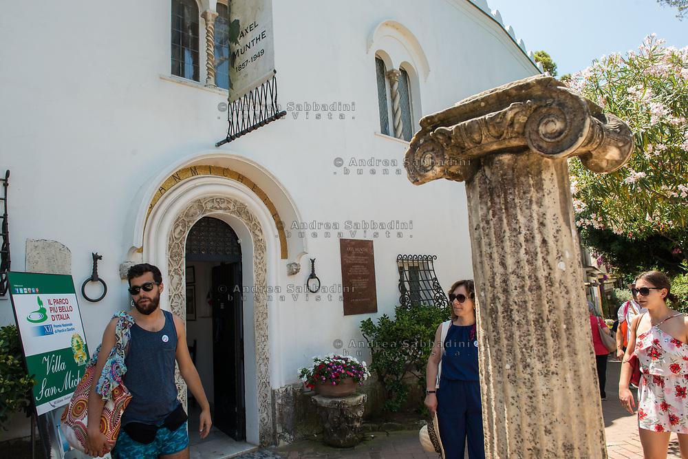Capri, 29/06/2018: Museo Axel Munthe, Villa San Michele. Anacapri.<br /> &copy; Andrea Sabbadini