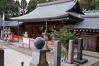 Ryozen Gokoku Jinja (shrine) in Kyoto houses the grave of the famous Japanese historical figure Ryoma Sakamoto.