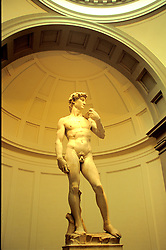 "Florence, Italy:  A trip to see ""David"" by Michelangelo (1504) at the Galleria dell'Accademia is high on every tourist's sightseeing list."