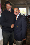l to r: Lawrence Lejohn and Obba Babatunde at ?Kiki's 1st Annual Celebrity Golf Challenge? Presented by ALIZÉ, The Premium Liqueur held at The Braemar Country Club on October 134, 2008 in Tarzana, Ca..KiKi?s Celebrity Golf Challenge (CGC) - conceived and spearheaded by Ms. Shepard ? is a fundraising event to benefit The K.I.S. Foundation, Inc.  The central mission of The K.I.S. Foundation is to inform and educate the public, raise awareness about Sickle Cell Disease through community outreach programs and educational scholarships, and to financially help support the efforts of research institutions to find a universal cure. Sickle Cell Disease is an inherited, non-contagious blood disease that can be crippling, painful, and life threatening. The K.I.S. Foundation Awards Banquet will also honor individuals and organizations who have selflessly committed themselves in the fight against Sickle Cell Disease...
