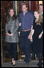 DEC 08 2014 Duke and Duchess of Cambridge New York-Day 2