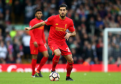 Emre Can of Liverpool - Mandatory by-line: Matt McNulty/JMP - 08/01/2017 - FOOTBALL - Anfield - Liverpool,  - Liverpool v Plymouth Argyle - Emirates FA Cup third round