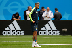 June 21, 2018 - Saint Petersburg, Russia - Neymar of Brazil national team during a Brazil national team training session during the FIFA World Cup 2018 on June 21, 2018 at Saint Petersburg Stadium in Saint Petersburg, Russia. (Credit Image: © Mike Kireev/NurPhoto via ZUMA Press)