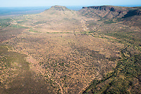 The Waterberg  mountain range, Marataba Private Game Reserve, Limpopo, South Africa