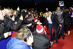 March 15, 2019 - Lille, France, FRANCE - Arrivee au Stade des joueurs Lillois.Thiago Mendes  (Credit Image: © Panoramic via ZUMA Press)