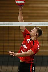20161029 NED: Eredivisie, Vallei Volleybal Prins - Advisie SSS: Ede<br />Joris Zwanenburg of Vallei Volleybal Prins <br />©2016-FotoHoogendoorn.nl / Pim Waslander