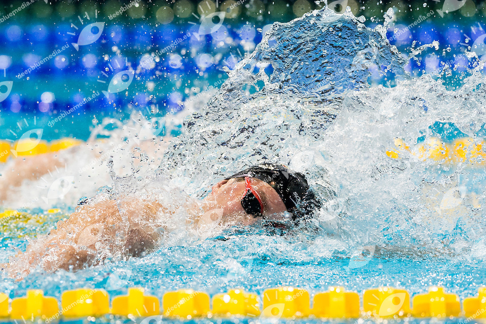 VANLUCHENE Emmanuel BEL<br /> 200m Freestyle Men Heats<br /> Netanya, Israel, Wingate Institute<br /> LEN European Short Course Swimming Championships Dec. 2 - 6, 2015 Day01 Dec.02<br /> Nuoto Campionati Europei di nuoto in vasca corta<br /> Photo Giorgio Scala/Deepbluemedia/Insidefoto