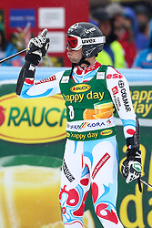FANARA Thomas of France during the 2nd Run of 7th Men's Giant Slalom - Pokal Vitranc 2013 of FIS Alpine Ski World Cup 2012/2013, on March 9, 2013 in Vitranc, Kranjska Gora, Slovenia.  (Photo By Matic Klansek Velej / Sportida.com)