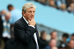 Crystal Palace manager Roy Hodgson looks thoughtful - Mandatory by-line: Matt McNulty/JMP - 23/09/2017 - FOOTBALL - Etihad Stadium - Manchester, England - Manchester City v Crystal Palace - Premier League