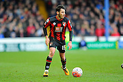 AFC Bournemouth defender Adam Smith during the The FA Cup fourth round match between Portsmouth and Bournemouth at Fratton Park, Portsmouth, England on 30 January 2016. Photo by Graham Hunt.