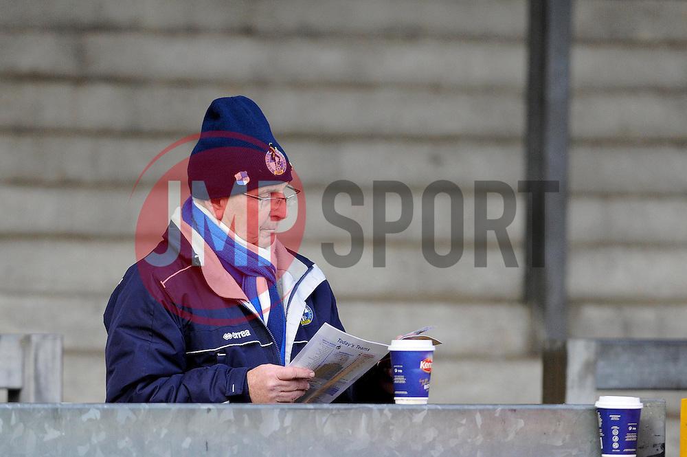 - Photo mandatory by-line: Dougie Allward/JMP - Tel: Mobile: 07966 386802 07/12/2013 - SPORT - Football - Bristol - Memorial Stadium - Bristol Rovers v Crawley Town - FA Cup - Second Round