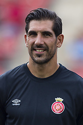 August 15, 2017 - Girona, Spain - Portrait of Gorka Iraizoz from Spain of Girona FC during the Costa Brava Trophy match between Girona FC and Manchester City at Estadi de Montilivi on August 15, 2017 in Girona, Spain. (Credit Image: © Xavier Bonilla/NurPhoto via ZUMA Press)