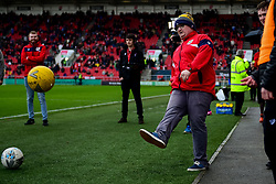 Half time Dunder Challenge - Mandatory by-line: Ryan Hiscott/JMP - 22/02/2020 - FOOTBALL - Ashton Gate - Bristol, England - Bristol City v West Bromwich Albion - Sky Bet Championship