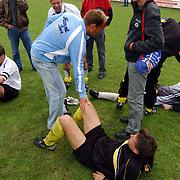 Finale Amstelcup amateurs 2004, VV Sneek - Ter Leede, teleurstelling, spelers