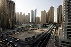 Appartment blocks in Jumeirah Beach Residence, Dubai, November 2008, Dubai. Photo by Andrew Parsons / i-Images
