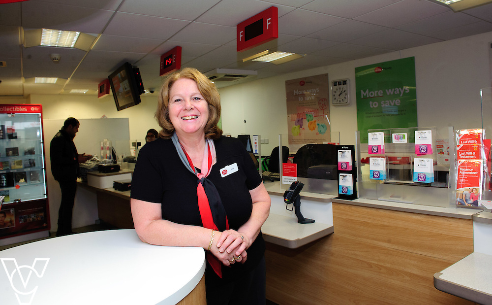 Jane Sharpe (pictured), who works at Peterborough Post Office, has been nominated as a One Hero by her colleague Adeel Shabir.  <br /> <br /> Date: February 4, 2016