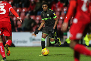 Forest Green Rovers Reece Brown(10) during the EFL Sky Bet League 2 match between Swindon Town and Forest Green Rovers at the County Ground, Swindon, England on 12 February 2019.