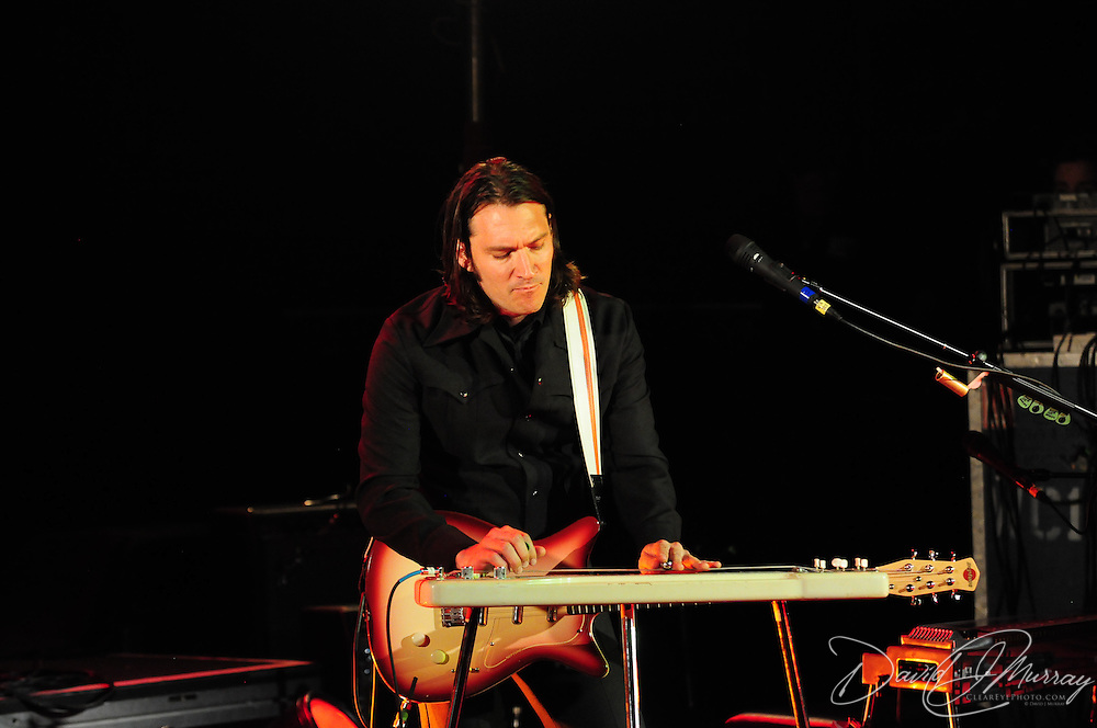 Siss Boom Bang guitarist Josh Grange, performing with k.d. lang at The Music Hall in Portsmouth, NH
