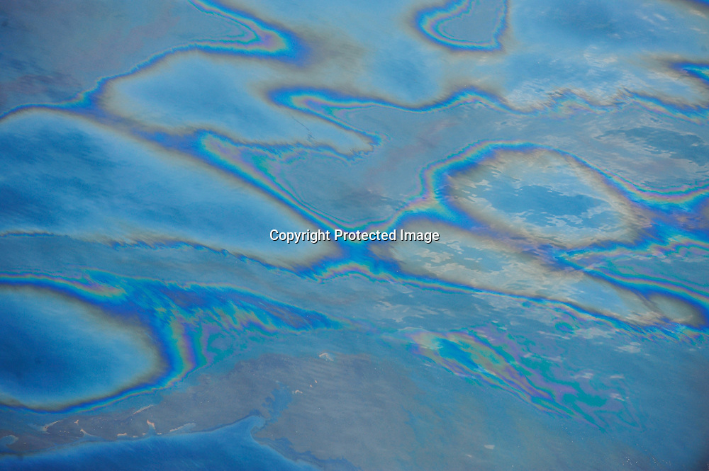 100506-N-6436W-085<br /> MOBILE, ALABAMA (May 6, 2010)  Aerial images of the Deepwater Horizon oil spill taken from a  US Coast Guard HC-144 aircraft. The flight was conducted primarily for media support and to plot the locations of the Deepwater Horizon oil spill. US Navy Photo by Mass Communication Specialist First Class Michael B. Watkins
