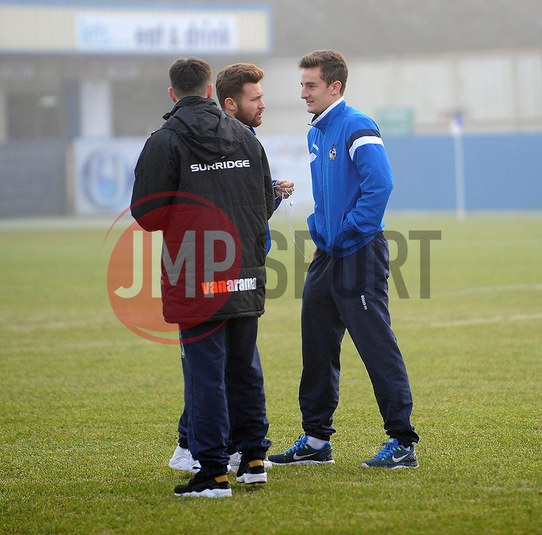 - Photo mandatory by-line: Neil Brookman/JMP - Mobile: 07966 386802 - 04/01/2015 - SPORT - football - Nuneaton - James Parnell Stadium - Nuneaton Town v Bristol Rovers - Vanarama Conference