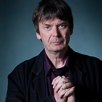 Ian Rankin, the Scottish crime writer, at the Edinburgh International Book Festival 2015. Edinburgh, Scotland. 20th August 2015 <br /> <br /> <br /> Photograph by Gary Doak/Writer Pictures<br /> <br /> WORLD RIGHTS