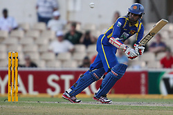 © Licensed to London News Pictures. 08/03/2012. Adelaide Oval, Australia. .Upul Tharanga plays an shot off his legs during the One Day International cricket match final between Australia Vs Sri Lanka. Photo credit : Asanka Brendon Ratnayake/LNP
