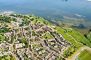 Nederland, Noord-Holland, Gemeente Muiden, 05-08-2014; Muiderberg, nieuwbouwwijk gelegen aan het IJmeer.<br /> luchtfoto (toeslag op standard tarieven);<br /> aerial photo (additional fee required);<br /> copyright foto/photo Siebe Swart