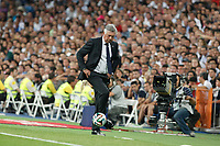 Real Madrid´s coach Carlo Ancelotti during 2014 Supercopa de España `Spain Supercup´ at Santiago Bernabeu stadium. August 19, 2014. (ALTERPHOTOS/Victor Blanco)