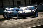 #33 Bruce Jenner / Burt Jenner, GMG Racing, Lamborghini of Beverly Hills. #93 Jayson Clunie, Exclusive Auto Sports/ I-MOTO, Lamborghini of Dallas