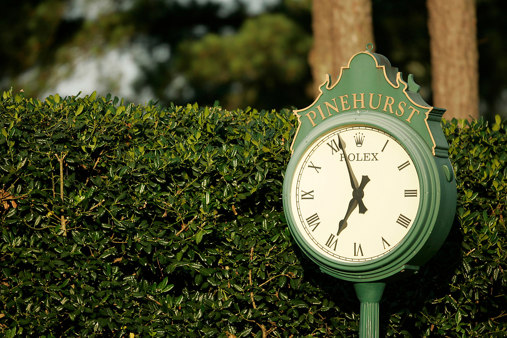 PINEHURST, NORTH CAROLINA - JUNE 16, 2005<br /> 1st Round of the 2005 U.S. Open Championship, held at Pinehurst No.2 in the Village of Pinehurst, North Carolina.