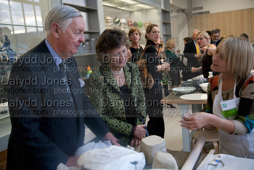 JULIAN BENSON; JANE BENSON; FAY DE WINTER, Opening of the V. and A.'s New Ceramics Galleries by the Princess Royal. V. & A. London. 16 September 2009