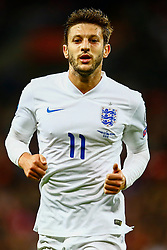 Adam Lallana of England - Mandatory byline: Jason Brown/JMP - 07966 386802 - 09/10/2015- FOOTBALL - Wembley Stadium - London, England - England v Estonia - Euro 2016 Qualifying - Group E