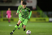 Forest Green Rovers Daniel Jones(40) during the FA Youth Cup match between Forest Green Rovers and Helston Athletic at the New Lawn, Forest Green, United Kingdom on 29 October 2019.