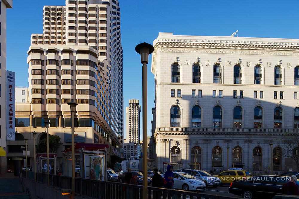 Market Street, Downtown, Union Square, San Francisco.