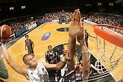 DESCRIZIONE : Bologna Lega A1 2006-07 Playoff Quarti di Finale Gara 3 VidiVici Virtus Bologna Angelico Biella <br /> GIOCATORE : Christian Drejer<br /> SQUADRA : VidiVici Virtus Bologna<br /> EVENTO : Campionato Lega A1 2006-2007 Playoff Quarti di Finale Gara 3<br /> GARA : VidiVici Virtus Bologna Angelico Biella<br /> DATA : 22/05/2007 <br /> CATEGORIA : Special Schiacciata Curiosita<br /> SPORT : Pallacanestro <br /> AUTORE : Agenzia Ciamillo-Castoria/M.Marchi<br /> Galleria : Lega Basket A1 2006-2007 <br /> Fotonotizia : Bologna Campionato Italiano Lega A1 2006-2007 Playoff Quarti di Finale Gara 3 VidiVici Virtus Bologna Angelico Biella <br /> Predefinita :