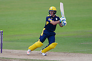 Will Smith of Hampshire during the Royal London One Day Cup match between Hampshire County Cricket Club and Somerset County Cricket Club at the Ageas Bowl, Southampton, United Kingdom on 2 August 2016. Photo by David Vokes.