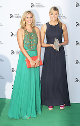 © Licensed to London News Pictures. Holly Branson and Isabella Calthorpe at the Novak Djokovic Foundation London gala dinner, The Roundhouse, London UK, 08 July 2013. Photo credit: Richard Goldschmidt/LNP