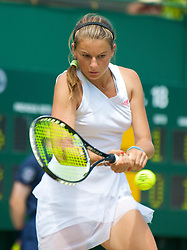 LONDON, ENGLAND - Wednesday, July 1, 2009: Quirine Lemoine (NED) during the Girls' Singles 3rd Round match on day nine of the Wimbledon Lawn Tennis Championships at the All England Lawn Tennis and Croquet Club. (Pic by David Rawcliffe/Propaganda)