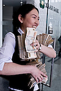 Mongolia. The Khan bank , the largest bank in  / La Khan Bank , l