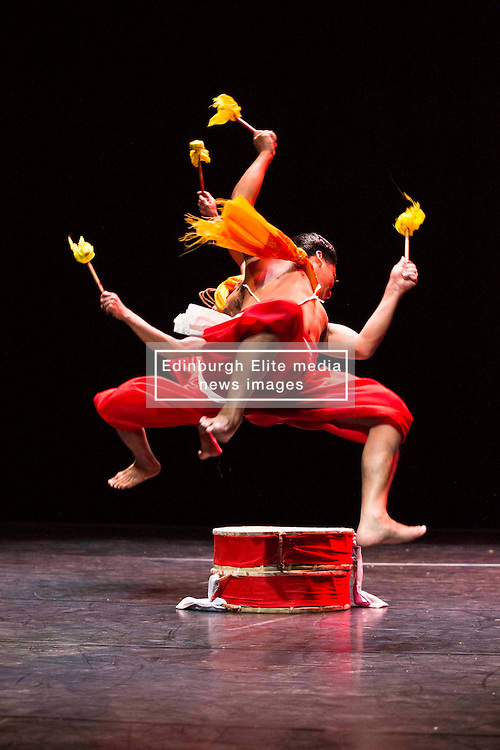 Pictured: Mela on Your Doorstep event. A snapshot of the annual Glasgow Mela, which takes place next weekend, including music and dance. Tramway,Manipur Dance by Tapsaya<br /> Karen Gordon  (c) Edinburgh Elite media 10 July 2016