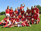 Charlton Athletic Women Trophy Celebrations