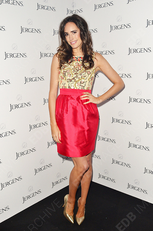 02.JULY.2012. LONDON<br /> <br /> LOUISE ROE ATTENDS JERGENS RE-LAUNCH PARTY IN COVENT GARDEN<br /> <br /> BYLINE: EDBIMAGEARCHIVE.CO.UK/JOE ALVAREZ<br /> <br /> *THIS IMAGE IS STRICTLY FOR UK NEWSPAPERS AND MAGAZINES ONLY*<br /> *FOR WORLD WIDE SALES AND WEB USE PLEASE CONTACT EDBIMAGEARCHIVE - 0208 954 5968*