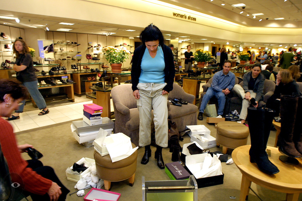 Nordstrom's is having a Fall sale which is not normal for this time of year, their shoe department one of many in full swing.